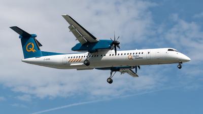 A picture of CGHQL - De Havilland Canada Dash 8400 - Hydro Quebec - © Romain Bigorgne
