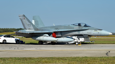 188766 - McDonnell Douglas CF-18A Hornet - Canada - Royal Air Force