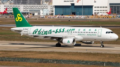 B-6562 - Airbus A320-214 - Spring Airlines