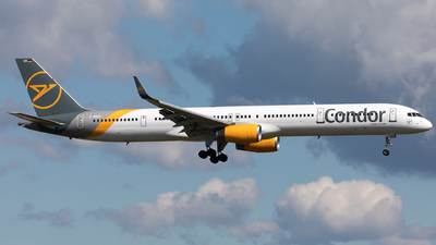 A picture of DABOH - Boeing 757330 - Condor - © Sierra Aviation Photography