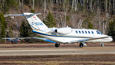 A picture of CGZAS - Cessna 525A CitationJet CJ2+ - Airsprint - © Mark Brandon