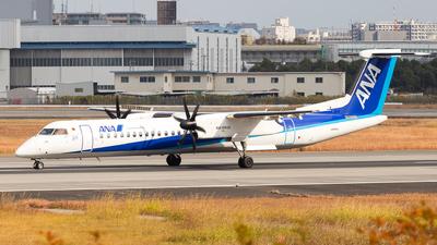 A picture of JA464A - De Havilland Canada Dash 8400 - All Nippon Airways - © LUSU