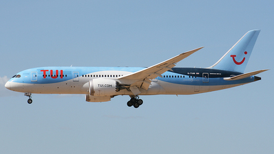 A picture of GTUIB - Boeing 7878 Dreamliner - TUI fly - © paulo carvalho