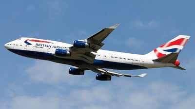 G-BNLK - Boeing 747-436 - British Airways