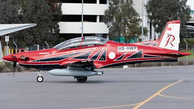 A picture of HBHWP - Pilatus PC21 - Pilatus Flugzeugwerke - © Mitch Coad