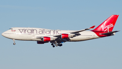 G-VAST - Boeing 747-41R - Virgin Atlantic Airways