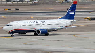 N307AW - Boeing 737-3G7 - US Airways