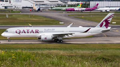 F-WWTW - Airbus A350-941 - Qatar Airways