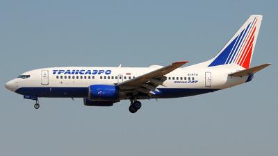 EI-ETX - Boeing 737-7Q8 - Transaero Airlines