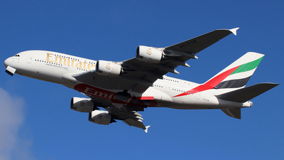 A6-EVB - Airbus A380-842 - Emirates
