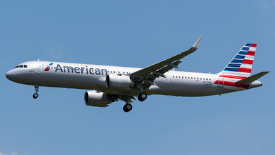 N413AN - Airbus A321-253NX - American Airlines