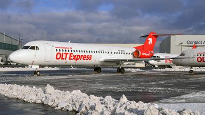 D-AFKE - Fokker 100 - OLT Express