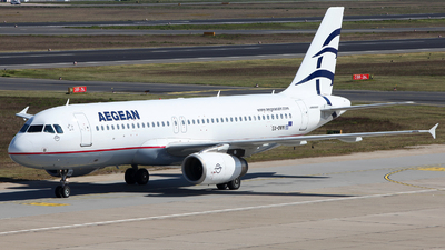 SX-DVN - Airbus A320-232 - Aegean Airlines
