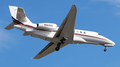 N563QS - Cessna Citation Latitude - NetJets Aviation