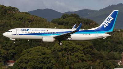 A picture of JA78AN - Boeing 737881 - All Nippon Airways - © Yukio023