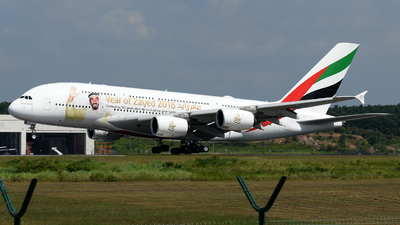 A6-EUZ - Airbus A380-842 - Emirates