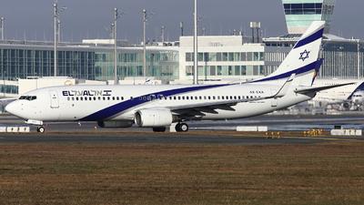 4X-EKA - Boeing 737-858 - El Al Israel Airlines