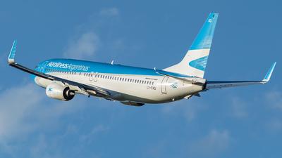 A picture of LVFXQ - Boeing 7378MB - Aerolineas Argentinas - © Romero Martin