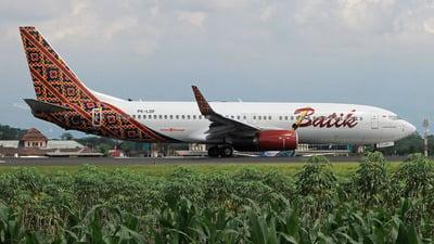 A picture of PKLDF - Boeing 7378GP - Batik Air - © fidaperkasa