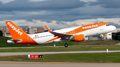 A picture of OEIJF - Airbus A320214 - easyJet - © Rui Marques