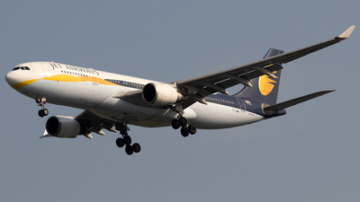 VT-JWW - Airbus A330-202 - Jet Airways