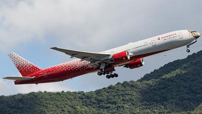 A picture of EIUNP - Boeing 777312 - Rossiya - © Thomas Shum - Skies of Pearl