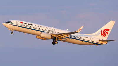 B-5397 - Boeing 737-89L - Air China