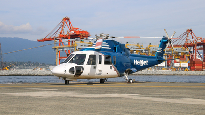 A picture of CGHJP - Sikorsky S76A - Helijet International - © Ottawa.Plane.Spotter
