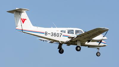 B-3607 - Piper PA-44-180 Seminole - Civil Aviation Flight University of China