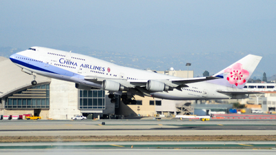 B-18211 - Boeing 747-409 - China Airlines