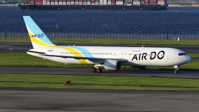 JA612A - Boeing 767-381(ER) - Air Do (Hokkaido International Airlines)
