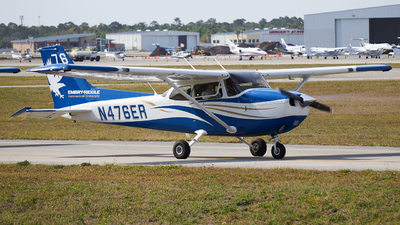 N476ER - Cessna 172S Skyhawk SP - Embry-Riddle Aeronautical University (ERAU)