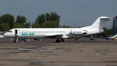 UP-F1014 - Fokker 100 - Bek Air