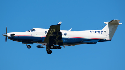 M-YBLS - Pilatus PC-12/45 - Private