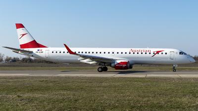 OE-LWF - Embraer 190-200LR - Austrian Airlines
