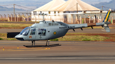 N-5046 - Agusta-Bell AB-206B JetRanger III - Brazil - Navy