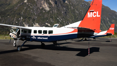 ZK-MCL - Cessna 208B Grand Caravan - Milford Sound Flightseeing