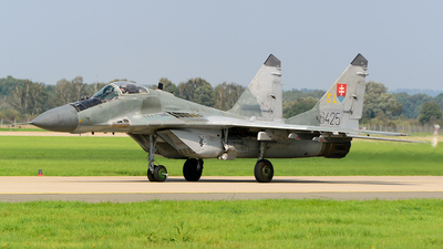 6425 - Mikoyan-Gurevich MiG-29AS Fulcrum A - Slovakia - Air Force
