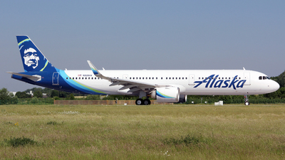 N928VA - Airbus A321-253N - Alaska Airlines