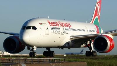 5Y-KZJ - Boeing 787-8 Dreamliner - Kenya Airways