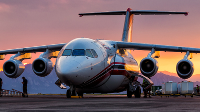 N355AC - British Aerospace Avro RJ85 - AeroFlite
