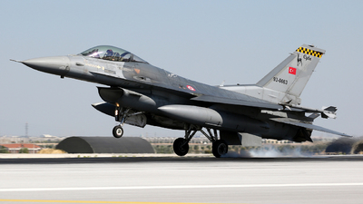 93-0663 - Lockheed Martin F-16CJ Fighting Falcon - Turkey - Air Force