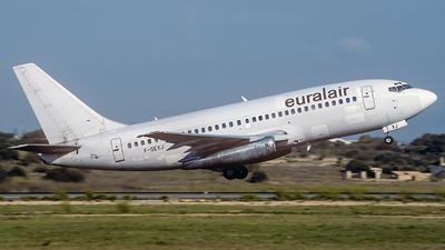 F-GEXJ - Boeing 737-2Q8(Adv) - Euralair International