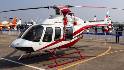 B-70E8 - Bell 407GXI - Shaanxi Helicopter
