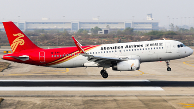 A picture of B8411 - Airbus A320232 - Shenzhen Airlines - © Jerry_Hammer