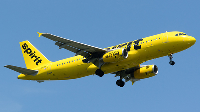 A picture of N617NK - Airbus A320232 - Spirit Airlines - © John Newsome