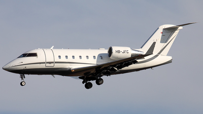 HB-JFC - Bombardier CL-600-2B16 Challenger 604 - Nomad Aviation
