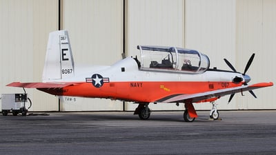 166067 - Raytheon T-6B Texan II - United States - US Navy (USN)