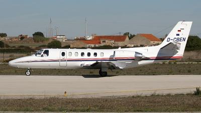 D-CBEN - Cessna 560 Citation Ultra - Private