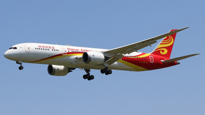 A picture of B1138 - Boeing 7879 Dreamliner - Hainan Airlines - © Ivan Li